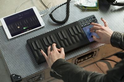 Roli brings the rubbery Seaboard piano to its modular Blocks system