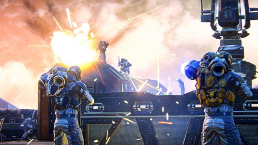 PlanetSide Arena Revealed With 500-Player Battle Royale Mode