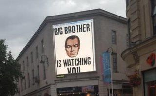 Anon hackers abuse advertising billboard in Cardiff to display mixed messages