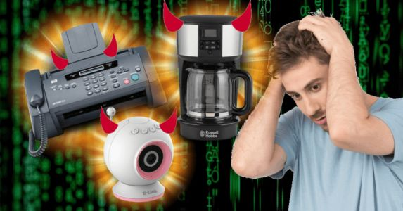 Fax machines, coffee pots, and baby monitors - the surprising ways you could be hacked