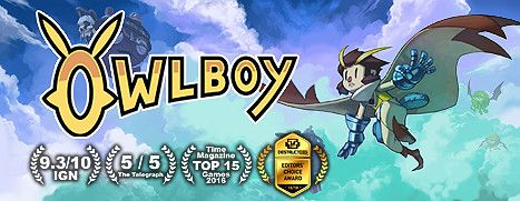 Daily Deal - Owlboy, 50% Off
