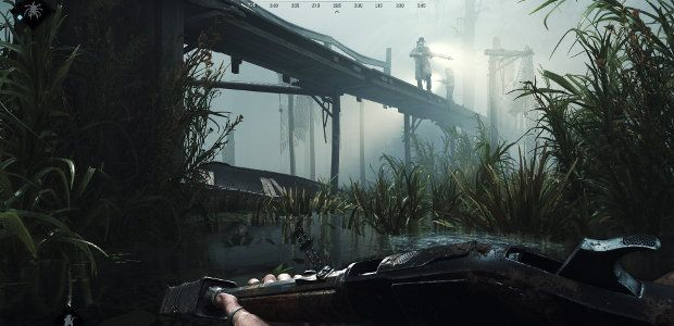 Hunt: Showdown whips out crossbows & throwing knives