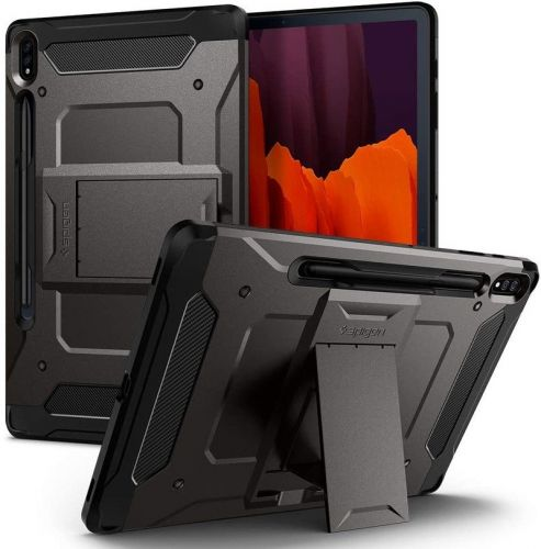Your Galaxy Tab S7+ case can protect or add to your tablet