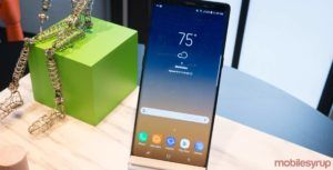 Samsung Galaxy Note 9 may use an in-display fingerprint scanner
