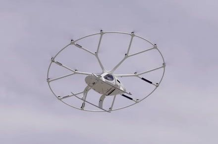 Watch the unique Volocopter take first public flight in the U.S