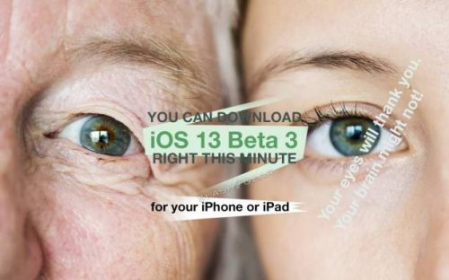 Your iPhone's new update is iOS 13 Beta, with FaceTime 'attention correction'