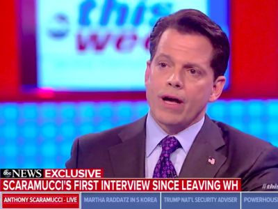 'He has to move away from that sort of Bannon-bart nonsense': Scaramucci repeatedly blasts Steve Bannon in multiple interviews