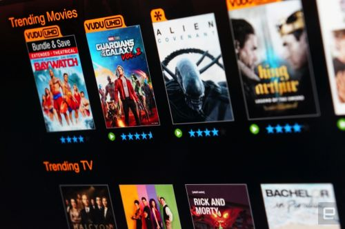 Vudu adds Sony TVs to its list of compatible 4K devices