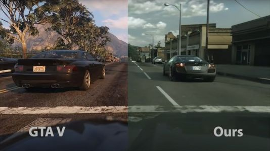 Intel AI makes GTA 5 look photorealistic but not better