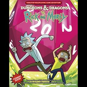 Wizards of the Coast Announces Dungeons & Dragons vs. Rick and Morty