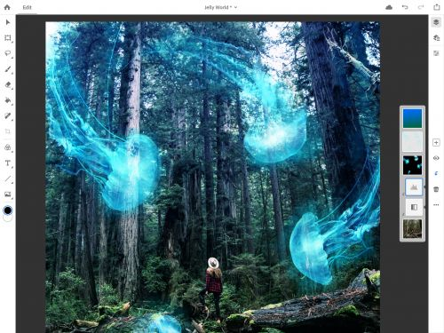 Adobe is bringing Photoshop CC to the iPad
