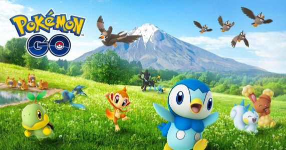 Pokemon Go's Gen 4 Pokemon Now Available