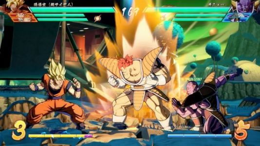 Ginyu Force Go! See Captain Ginyu and Nappa in action with these new Dragon Ball FighterZ screenshots