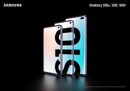Samsung announces the Galaxy S10