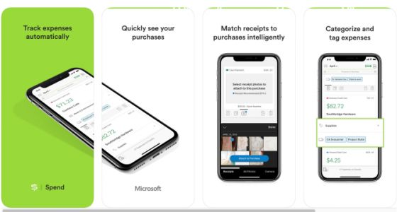 Microsoft's new expense tracker Spend hits the App Store