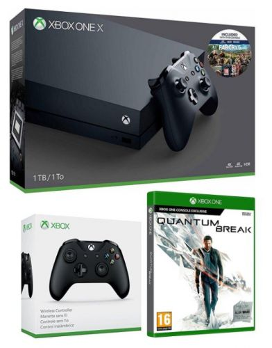 Xbox One X Far Cry 5 Bundle with Extra Controller and Quantum Break for £460