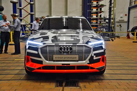Take a look at what makes Audi's first-born electric car tick
