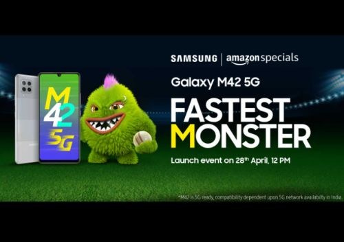Samsung Launch Event for Galaxy M42 5G on April 28: Budget Smartphone with a 64MP Main Camera and More!