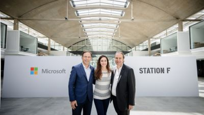 Microsoft launches a new AI startup program at Station F in Paris