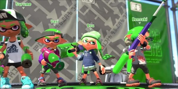 Check Out Splatoon 2's Newest Game Mode, Clam Blitz