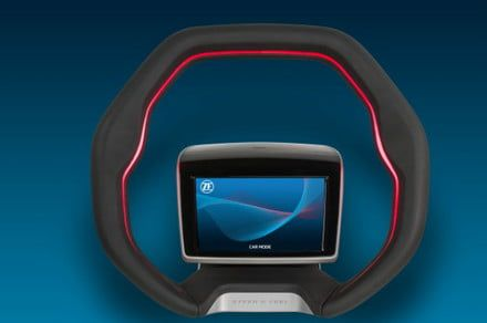 Is this gesture-controlled steering wheel genius or madness?