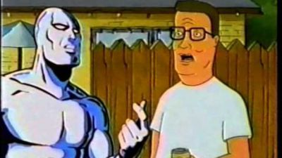 Hank Hill Meets The Silver Surfer, Which is Marvel Canon Now