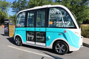 Canada's first electric, autonomous shuttle will launch in Candiac, Quebec