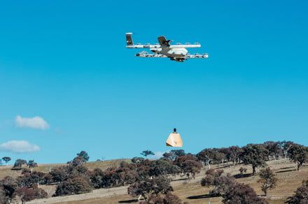 Drones are delivering burritos directly to the homes of rural Australians