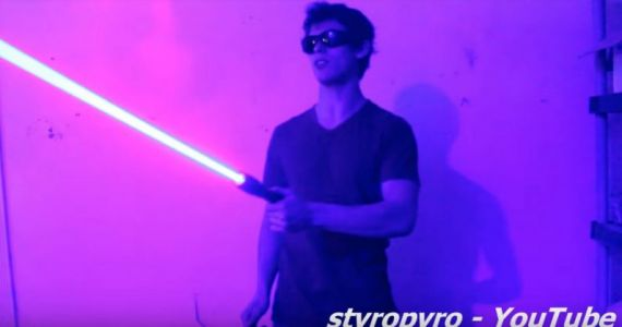 These DIY lasers scare the crap out of YouTube