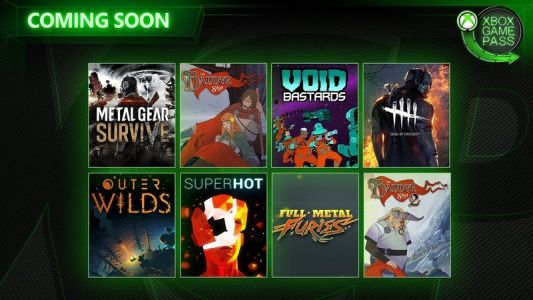 Metal Gear Survive, Void Bastards, and more join Xbox Game Pass soon