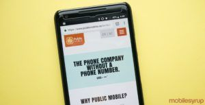 Public Mobile flash sale offers second month of service for $0