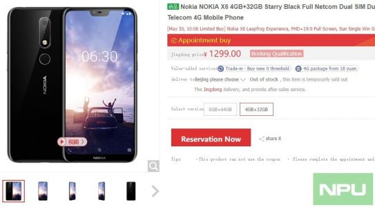 Nokia X6 sells out in seconds again during the 2nd sales opening