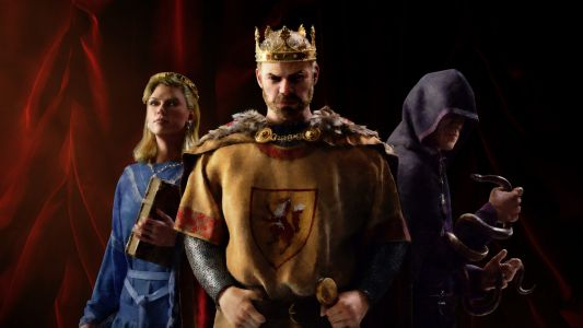 Your king could lose his mind if you're too nice in Crusader Kings 3