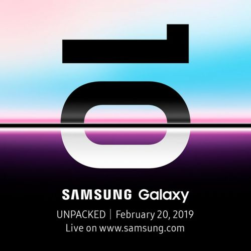 Samsung Galaxy S10 event is happening February 20
