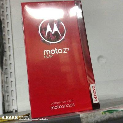 Unboxing Images Surface For Lenovo's Moto Z2 Play