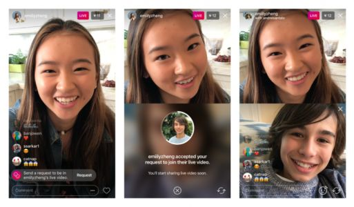 Instagram Users Can Now Request To Join Live Videos