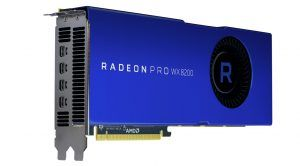 AMD Launches New, Much Cheaper Radeon Pro WX 8200