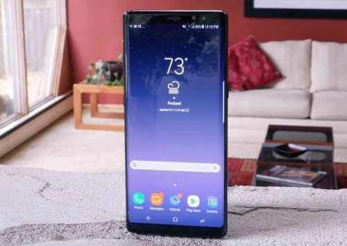 Samsung Galaxy Note 8 begins receiving Android Pie update