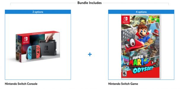 NES, SNES Classic, Nintendo Switch Bundled Deals at Walmart