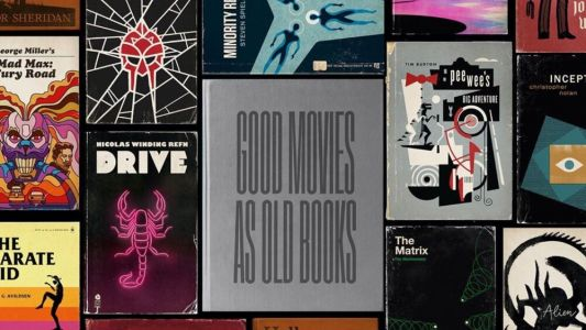 Classic Movies Creatively Reimagined as Paperback Books in Fan Art Series