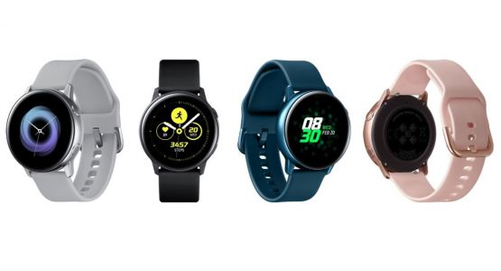 Samsung Galaxy Watch Active shows itself in all its beauty