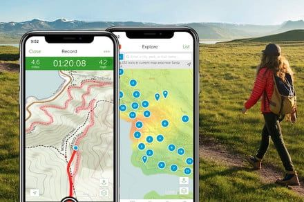 The AllTrails app gets even better, adds more details in new map layer