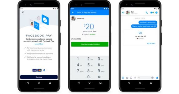 Facebook Pay will let you make payments through Messenger, WhatsApp, and Instagram