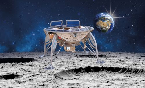 This 'Sparrow' lunar lander may soon make Israel the 4th country ever to land the moon