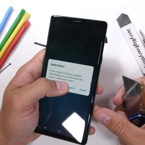 Samsung Galaxy Note 9 durability test reveals a bizarre little build flaw