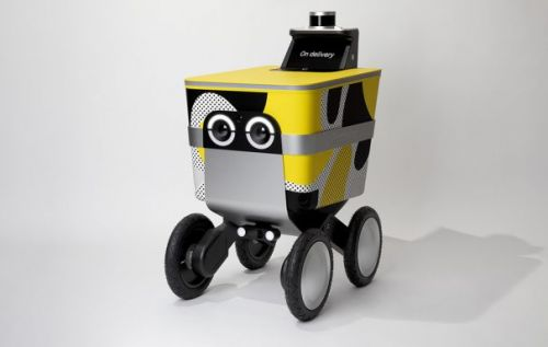 Postmates Serve autonomous on-demand delivery rover is made for cities