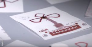 Wiliot'stiny chip gathers energy from Wi-Fi, Bluetooth and even cellular signals