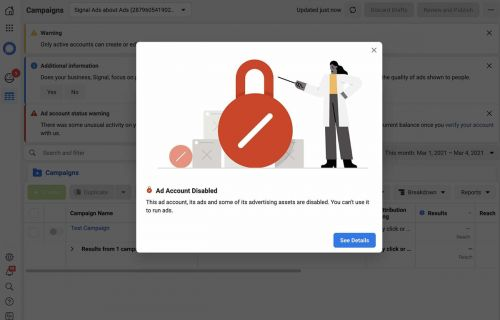Signal Reveals Too Much Truth About Facebook Ads, Gets Banned From Running Ads