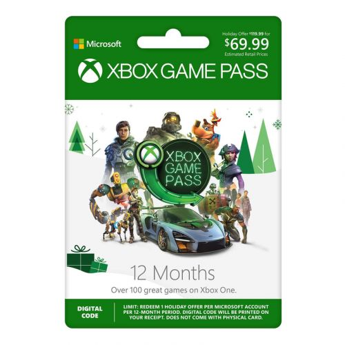 Get 12 months of Xbox Game Pass for the price of 7