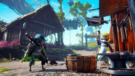 Biomutant still looks slick as heck in its new action-y gameplay video